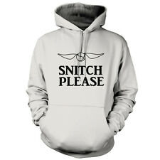 Snitch Please - Unisex Hoodie / Hooded Top - Funny - Wizard - 9 Colours