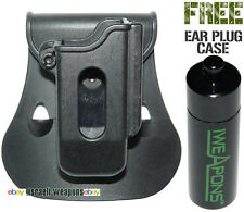PS0L Left Polymer Roto Mag Pouch Glock 17/19/22/23/26/27/31/32/33/34/35/37/38/39