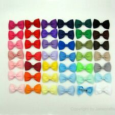"41/82pcs Cheap Hair Bow 2.5"" Boutique Girls Baby Grosgrain Ribbon Alligator Clip"