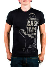 Johnny Cash Black When the Man Comes Around T-shirt ONLY SIZES SMALL & MED LEFT!