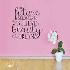 Beauty Of Their Dreams Wall Decal - Eleanor Roosevelt Quote