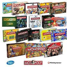 NEW! MONOPOLY COLLECTORS SPECIAL EDITION BOARD GAME 11 OPTIONS TO CHOOSE!