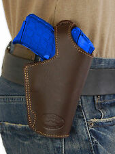 NEW Barsony Brown Leather OWB Belt Loop Holster Sig Walther Small 380 Ultra-Comp