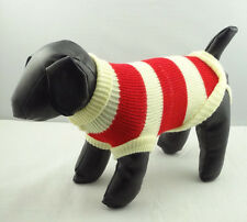 Pet Cat Dog Clothes Sweater Knitted Jacket Jumper Puppy Chihuahua XS S M L XL