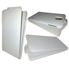 PLAIN WHITE  FLIP CASE COVER FOR SAMSUNG GALAXY NOTE 3 GT-N9000