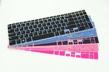 "Color Keyboard Skin Cover For 15.6"" Dell Inspiron 15R 5537 with numeric keypad"