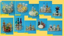 12th scale dolls house handmade beautiful drinks on a tray 10 to choose from.