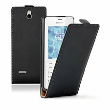 ULTRA SLIM Leather Flip Case Phone Cover Pouch for Nokia 515 Nokia 515 Dual Sim