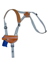 NEW Barsony Tan Leather Shoulder Holster for Kahr, Beretta Small 380 Ultra-Comp