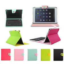 Hybrid Leather Cover Case Or Bluetooth Keyboard Case For Apple iPad mini 2 2nd