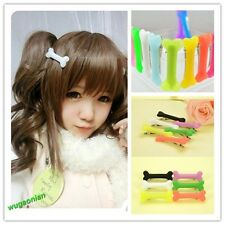3 PCS Fashion Vivid Dog Bone Hair Pin Side Band Clip Clips Lady Hairpin Colorful