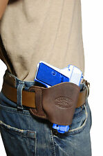 NEW Barsony Brown Leather OWB Yaqui Holster Walther, SIG Mini-Pocket 22 25 380