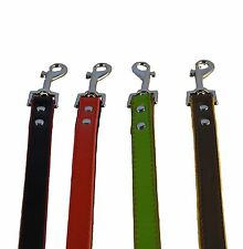 real leather fusion dog lead hand crafted high quality
