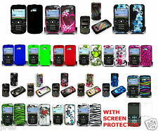 1 Screen Protector+Any 1 Rubber/Glossy Hard Case For LG Gossip GW300/GW305 Phone