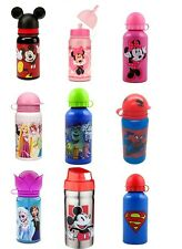 LICENSED KIDS SCHOOL LUNCH SPORTS ALUMINUM 14OZ WATER BOTTLE WITH PULL TOP