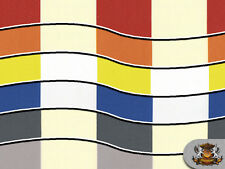 "Indoor/Outdoor Waterproof 4"" Deck Stripe Fabrics / 60"" Wide / Sold by the yard"