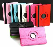 New For Apple iPad Mini Retina 360 Rotating PU Leather Case Cover w Swivel Stand