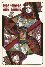 Poker Las Vegas Nevada Casino Cards Games Travel Vintage Poster Repro FREE S/H