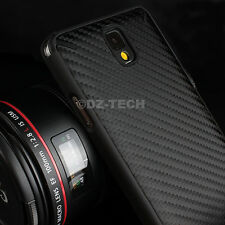 For Samsung Galaxy Note III 3 Real Carbon Fiber Hybrid Hard Case Back Cover