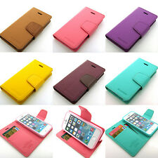 High Quality stand wallet flip pouch case cover w/lock belt for iPhone 4/4/5/5S
