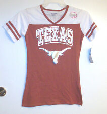Pro Edge Texas Longhorns Womens TShirts 14 Junior Sizes S, M and Lg NWT