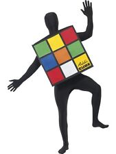 Unisex Mens Women Teen Rubik Cube Costume Outfit Funny Party Stag Hen Night Fun