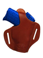 NEW Barsony Burgundy Leather Pancake Holster Sig Walther Small 380 Ultra Compact