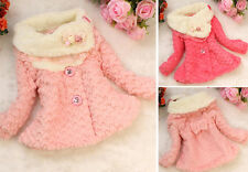New Baby Girls Kids Toddler Outwear Clothes Winter Jacket Coat Snowsuit Clothing