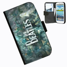 Beatles Protective Leather wallet phone case for Samsung Galaxy S3 mini Phone