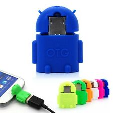 Mini Android Cell Phone Micro USB Host OTG Adapter For LG G2 Google Nexus 4 5