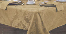 """52"""" x 70 inch Oblong Tablecloth set with 4 Napkins choose color 100% Polyester"""