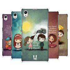 HEAD CASE DESIGNS CUTE EMO LOVE CASE COVER FOR SONY XPERIA Z1 C6902