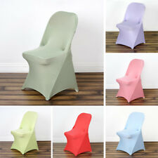75 pcs SPANDEX Folding CHAIR COVERS Fitted Stretchable Wedding Party Decorations