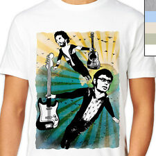 FLIGHT OF THE CONCHORDS T-Shirt. Funny Music, Retro Grunge Vintage Poster Style