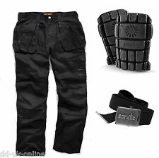 SCRUFFS WORK COMBAT TROUSERS WITH KNEE PAD POCKETS