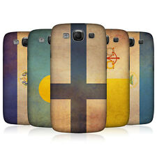 HEAD CASE VINTAGE FLAGS SET 2 BACK CASE COVER FOR SAMSUNG GALAXY S3 III I9300