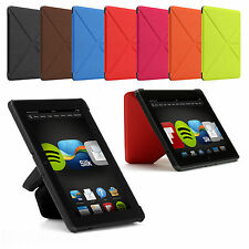 "ORIGAMI THIN SMART STANDING LEATHER CASE COVER FOR AMAZON KINDLE FIRE HD 7"" 2013"