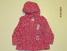 Baby Girl and Toddler Leopard Glacier Hoodie