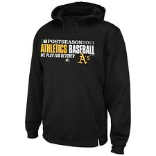 Majestic Oakland Athletics 2013 Playoffs Authentic Therma Base Hoodie Jacket