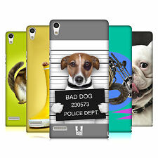 HEAD CASE DESIGNS FUNNY ANIMALS CASE COVER FOR HUAWEI ASCEND P6