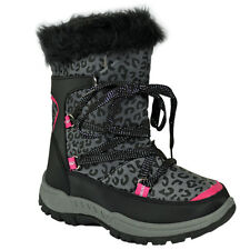 ** NEW KIDS GIRLS LADIES WINTER SNOW MOON MUCKER WATERPROOF WELLINGTON BOOT SHOE