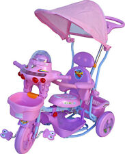 THREE WHEEL BIKE TRICYCLE SCOOTER BABY CHILD UFO INFANT TRIKE PARENT HANDLE