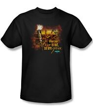 Survivor TV Show Fires Out So Are You Skull Flame Tee Shirt Adult Sizes S-3XL