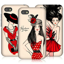 HEAD CASE FASHION ILLUSTRATIONS SERIES 2 HARD BACK CASE COVER FOR BLACKBERRY Q5