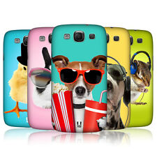 HEAD CASE FUNNY ANIMALS SNAP-ON BACK CASE COVER FOR SAMSUNG GALAXY S3 III I9300