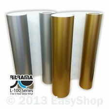 610mm Ritrama Self Adhesive Sign Making Vinyl Gold or Silver Sticky Back Plastic