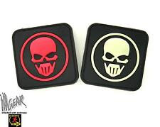 JTG Recon Skull PVC HOOK AND LOOP  patch 3D Rubber ill Gear ops military Re-Con