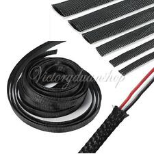 New 5 meters 4mm-30mm Expandable Braided /Braid Sleeving Cable Harness Colors