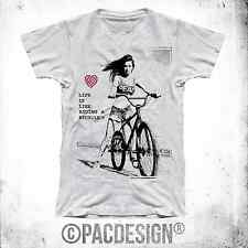 T-SHIRT UOMO BE BIKE LIFE CYCLE WOMAN SEXY WHY SO HAPPINESS BEDIFF