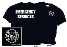 EMERGENCY SERVICES MALTESE CROSS T SHIRT